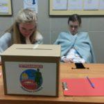 Во время выборов главы Карелии в Петрозаводске проводился опрос о придании городу статуса республиканской столицы. Фото: Дарья Каликина