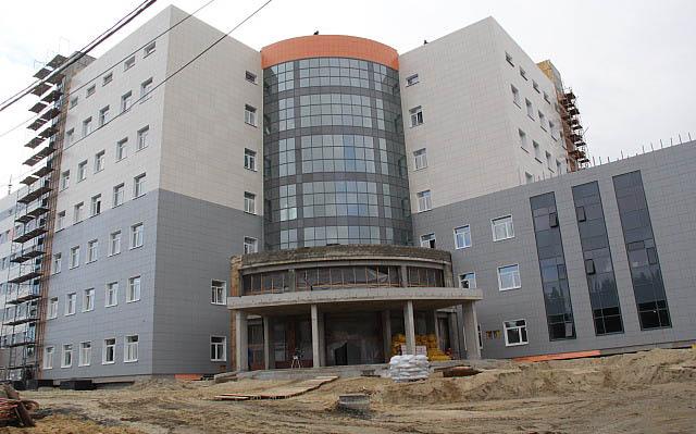 Строительство перинатального центра в Петрозаводске находится под контролем федерального центра. Фото: gov.karelia.ru