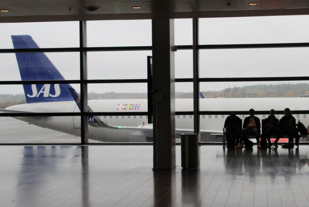 В аэропорту Арданда. Фото: Валерий Поташов