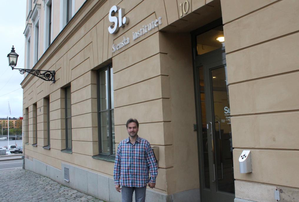 Профессор Дамасского университета Мохамад Хайтам Аль Нашеф работает сегодня переводчиком в Шведском институте в Стокгольме. Фото: Валерий Поташов