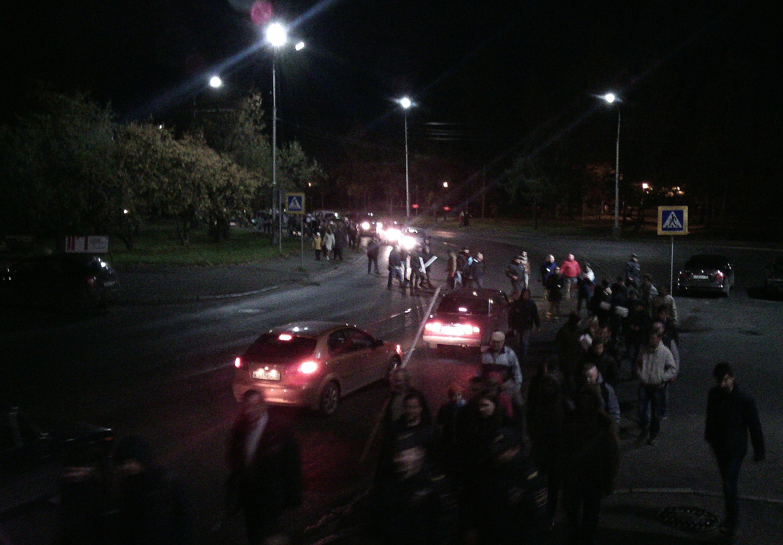 Шествие двинулось на городские улицы. Фото: Валерий Поташов