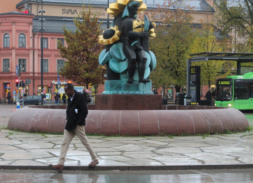 Район вокзала считается в Уппсале самой криминогенной зоной. Фото: Валерий Поташов