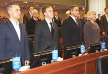 Каждое депутатское место карельского парламентария в зале заседаний теперь оборудовано компьютером. Фото: Валерий Поташов