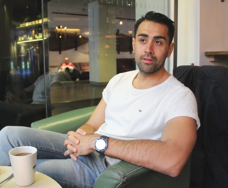 Мустафа Паншири считает себя афганским шведом. Фото: Валерий Поташов