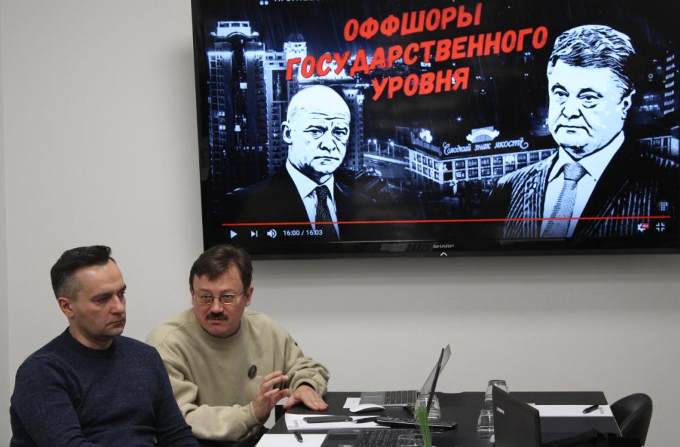 Олег Хоменок со своим коллегой Дмитро Гнапом. Фото: Валерий Поташов