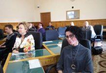 Карельский детский омдудсмен на заседании профильного комитета республиканского парламента. Фото: Татьяна Смирнова