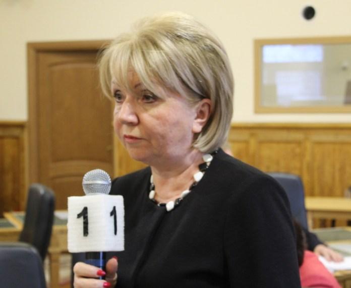 "Председатель партии ""Яблоко"", депутат парламента Карелии Эмилия Слабунова. Фото: Валерий Поташов"