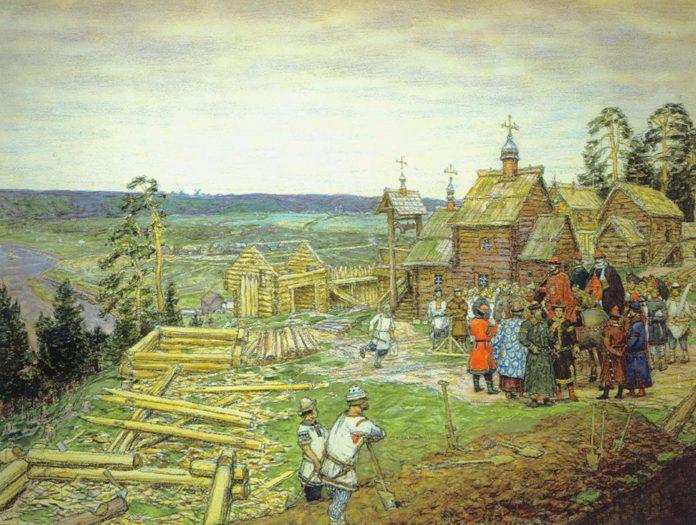 Репродукция картины Аполлинария Васнецова