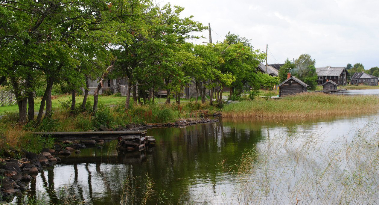 Кижская деревня Ямка. Фото: Татьяна Смирнова
