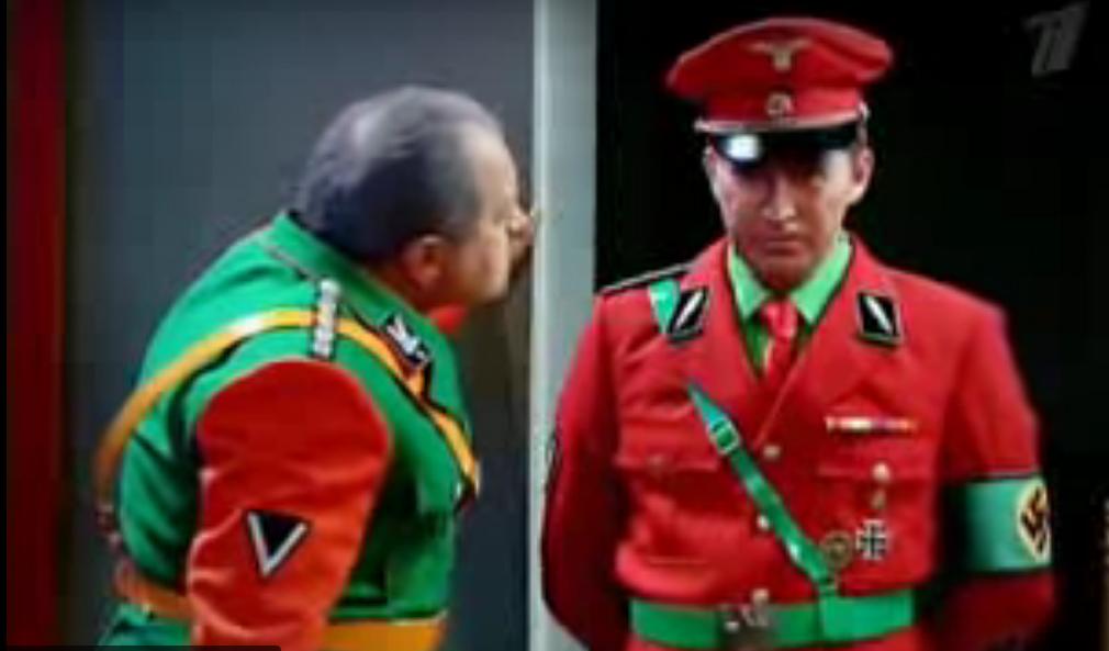 Кадр из телевизионной пародии на фильм