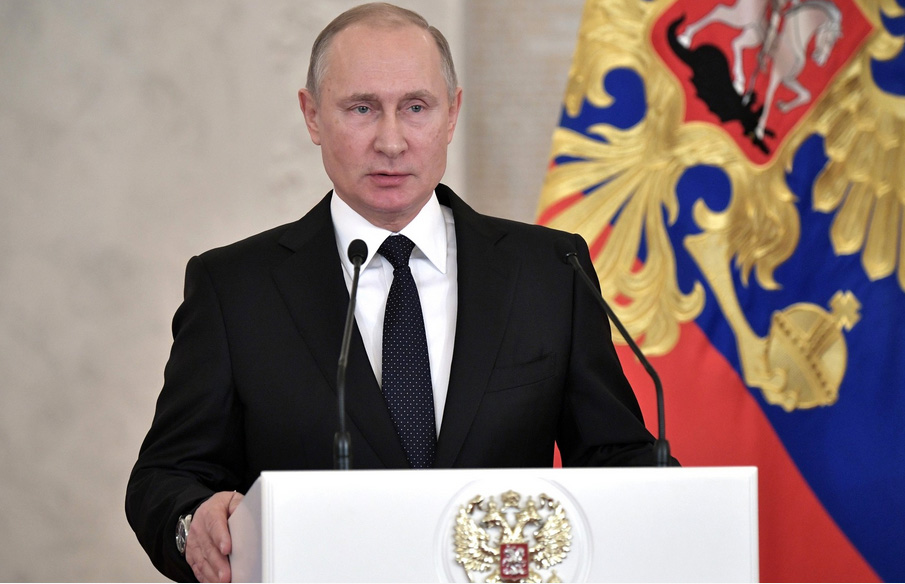 Мартовские выборы станут, по сути, вотумом доверия Путину. Фото: президент.рф