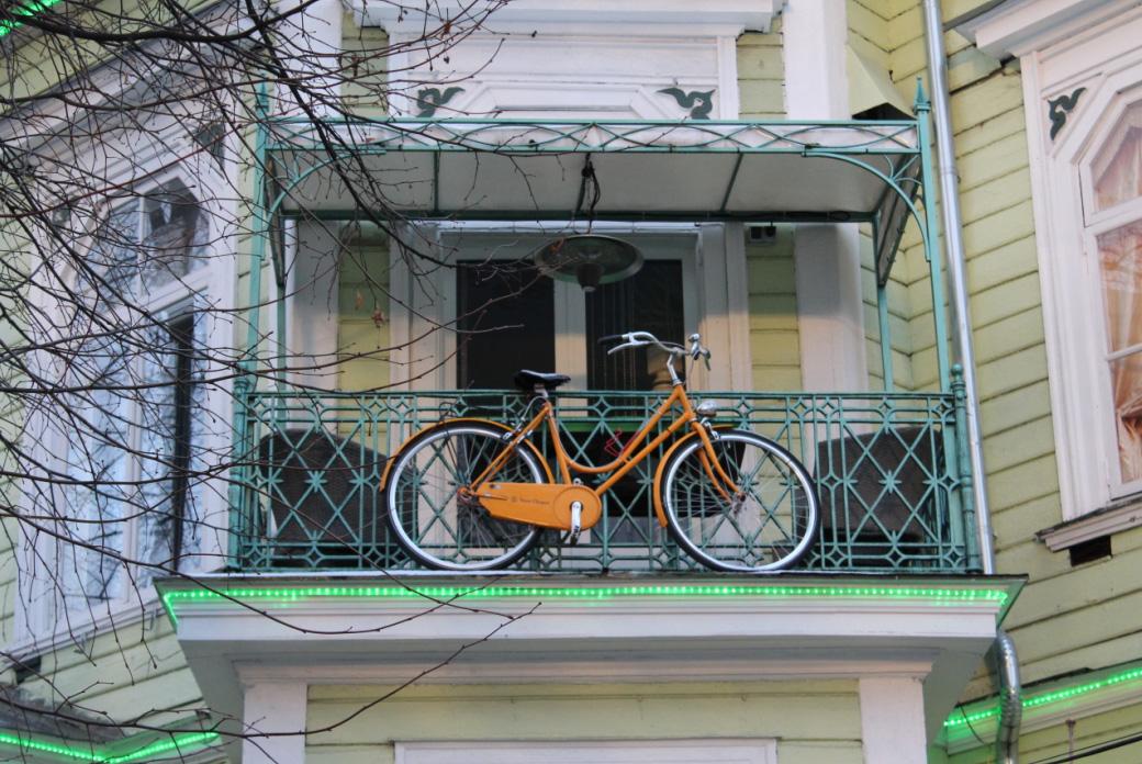 Добираться до центра Таллина лучше на общественном транспорте или велосипеде. Фото: Валерий Поташов