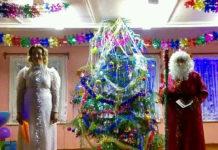 Жители заонежской деревни Великая Нива справили новогодние праздники всем миром. Фото из соцсетей