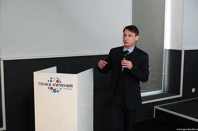 Директор Центра стратегии регионального развития Владимир Комаров. Фото: gov.karelia.ru