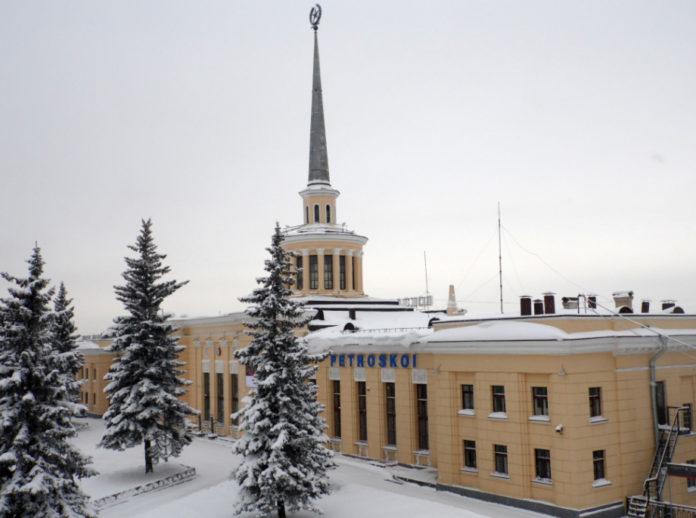 Железнодорожный вокзал Петрозаводска. Фото: Валерий Поташов