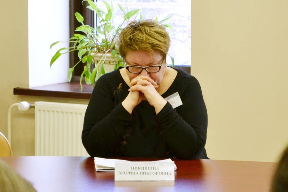 Директор Национальной библиотеки Карелии Марина Никишина. Фото: Анна Ларионова