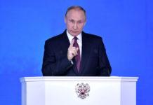 Президент РФ Владимир Путин выступил с ежегодным Посланием Федеральному собранию. Фото: kremlin.ru