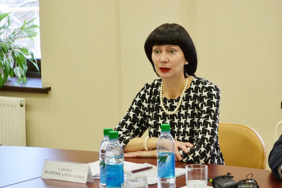Директор Детской библиотеки РК имени Морозова Валерия Сакина. Фото: Анна Ларионова