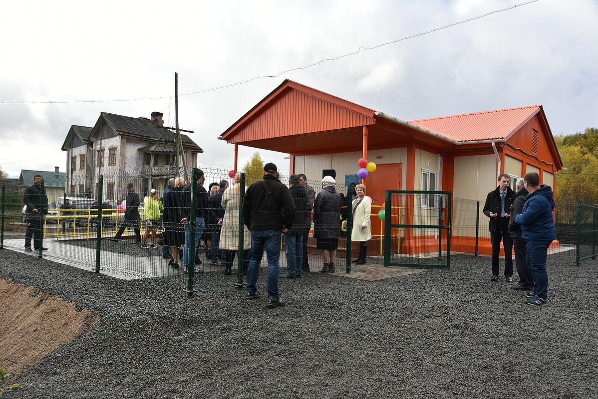 Открытие ФАП. Фото пресс-службы правительства Карелии