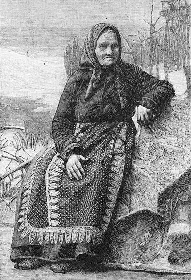 Архивное фото Ирины Федосовой. Именно такой образ плакальщицы предлагали для памятника карельские общественники
