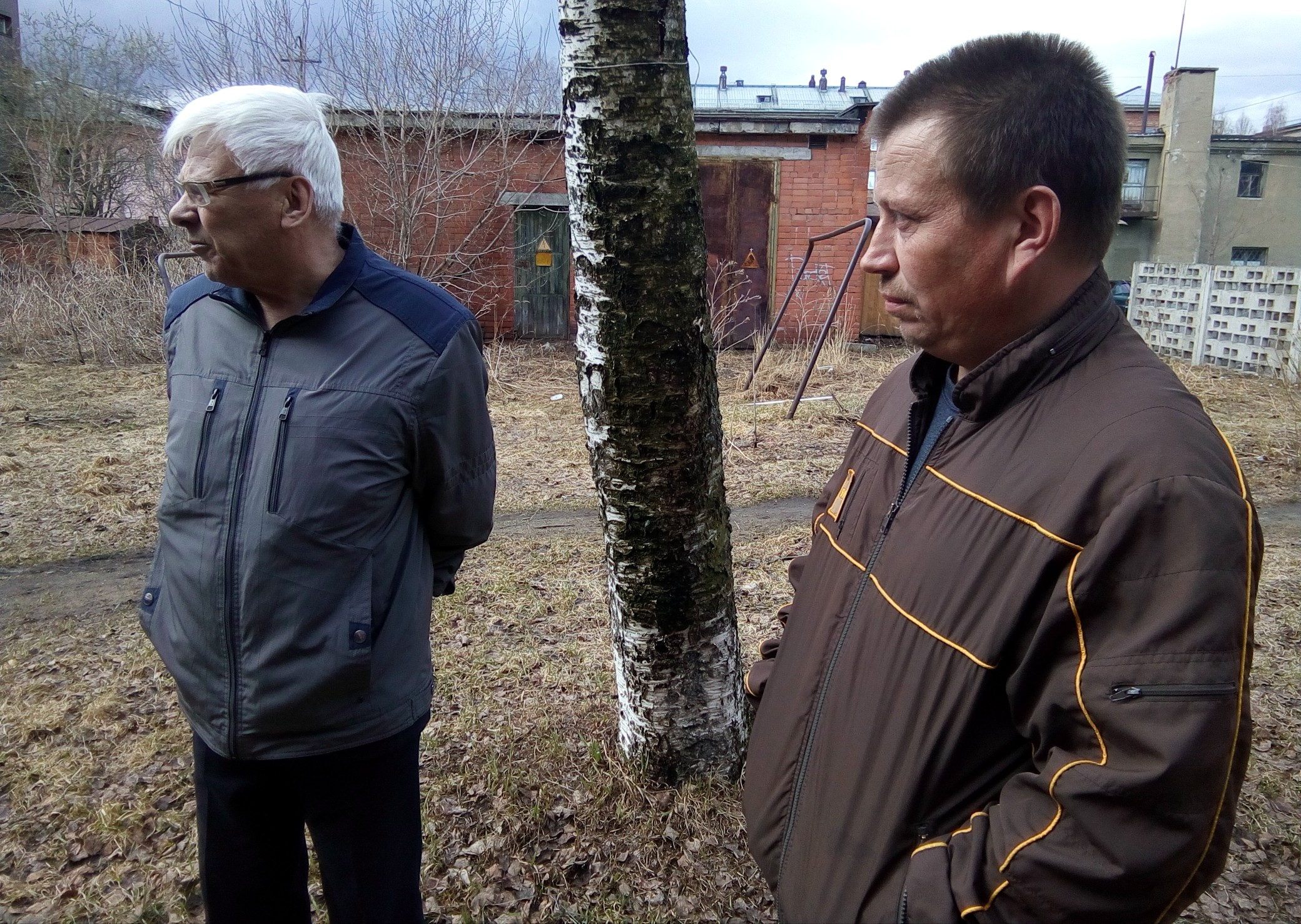 Михаил Гошкиев и Роман Лабутин. Фото: Валерий Поташов