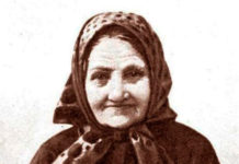 Знаменитая заонежская плакальщица Ирина Федосова. Фото: museum.ru
