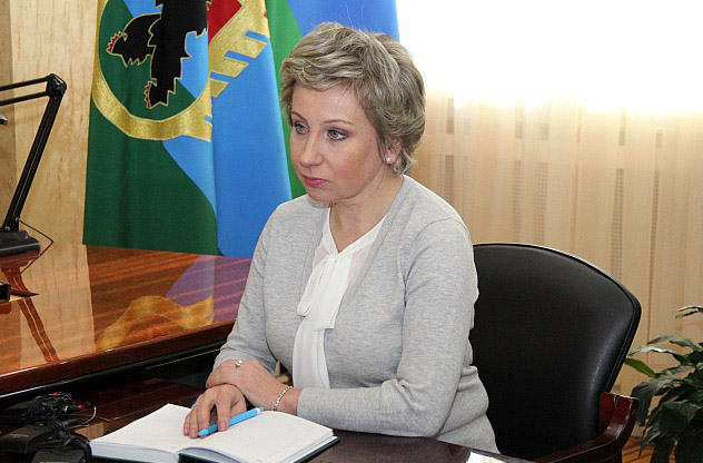 Вице-премьер Карелии Лариса Подсадник. Фото: gov.karelia.ru