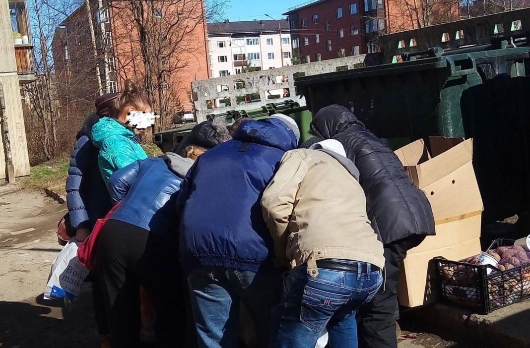 Помойки помогают многим в Карелии выживать. Фото: Татьяна Смирнова