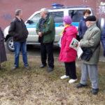 """""""Похороны Фемиды"""" в Петрозаводске прошли под пристальным вниманием полиции. Фото: Валерий Поташов"""