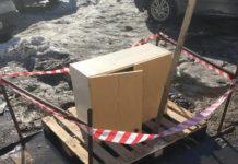 Такое неожиданное применение старому шкафу нашли в Сегеже. Фото из социальных сетей