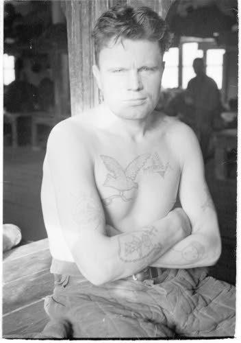 Медвежьегорск. 1942. Военнопленные. Уголовный элемент